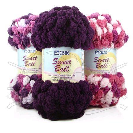 Fio Cisne Sweet Ball Lançamento Cisne Corrente 2011 Composição  100%  Poliéster Contém  45m d65fc909ca7