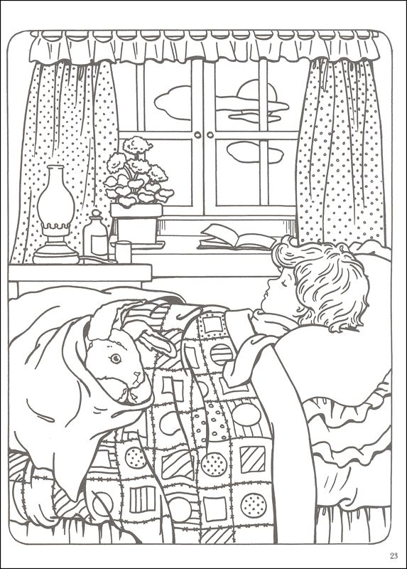 Velveteen Rabbit Coloring Book | Additional Photo (Inside Page ...