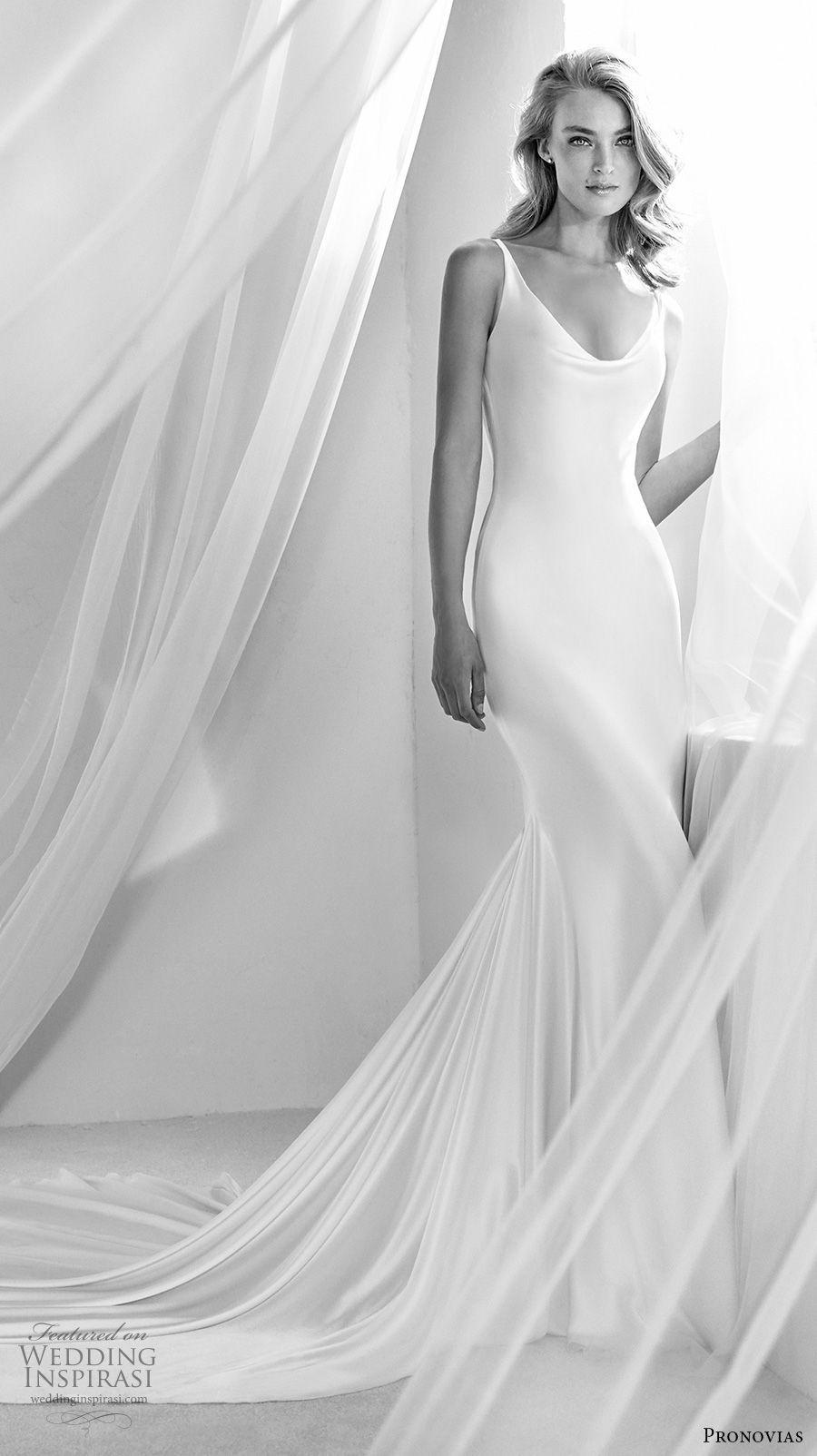 Atelier Pronovias 2018 Braut sleeveless Rundhalsausschnitt einfach ...