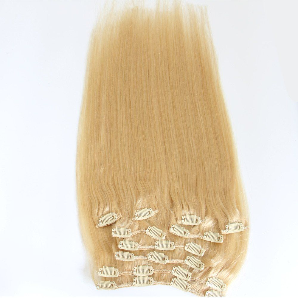 Extra Thick Deluxe 100 Real Human Hair Remy Hair Extensions Clip In