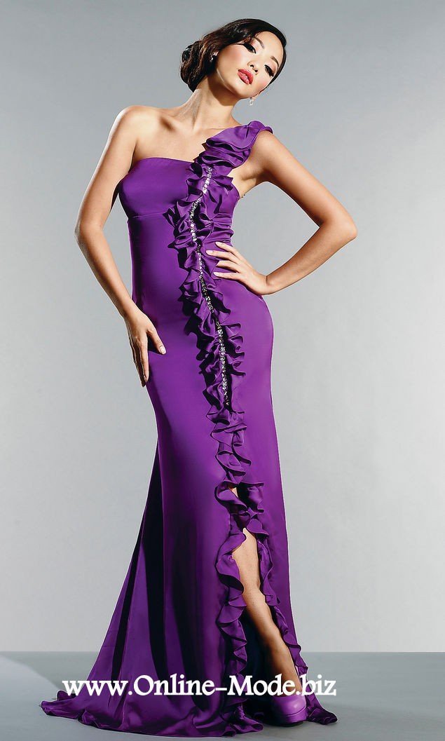Festliches Abendkleid Lang in Lila in 2020 | Abendkleid ...