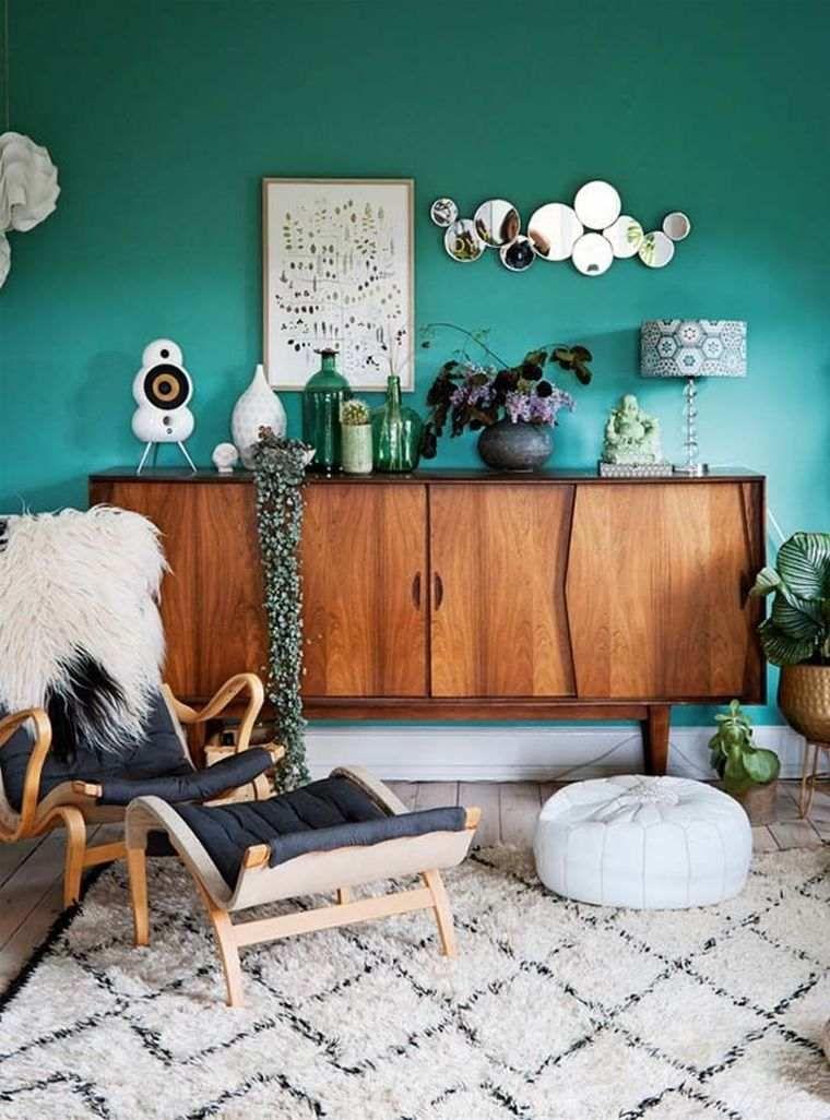 Comment Utiliser Le Vert Turquoise En Deco D Interieur Moderne