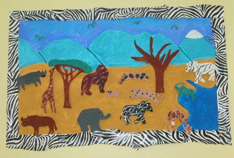 Ecole maternelle de lar ay 2 la savane africaine 2 - Animaux afrique maternelle ...