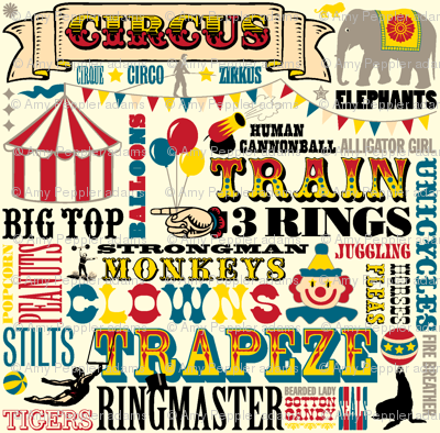 Vintage Circus Lettering Google Search Circus Font Carnival Font Vintage Circus