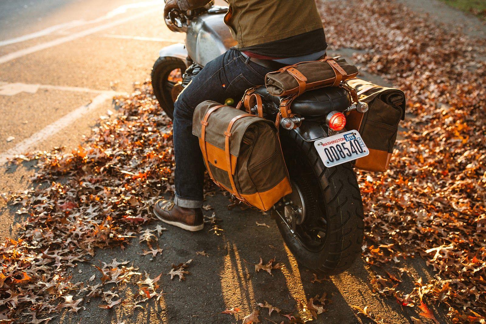 Gear Pack Animal Motorcycle Saddle Bags Motorrad Camping Satteltasche Motorrad