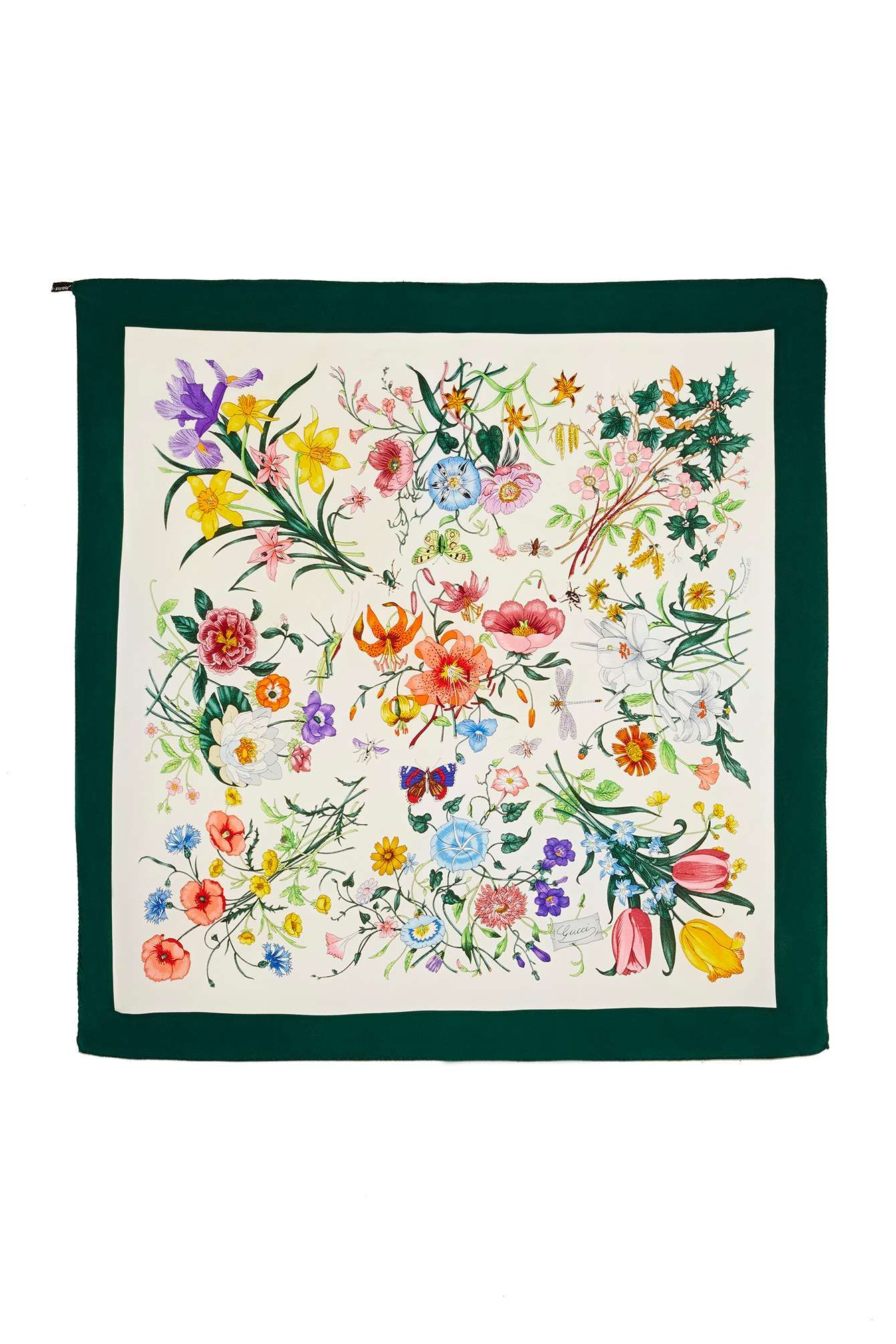 Gucci Butterfly Silk Scarf | Shop Vintage at Nasty Gal