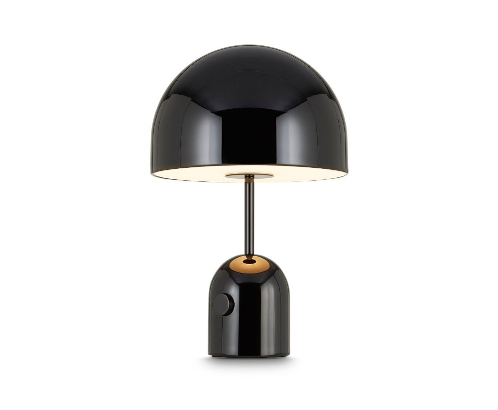 Bell Table Light Black In 2020 Black Table Lamps Light Table Table Lamp