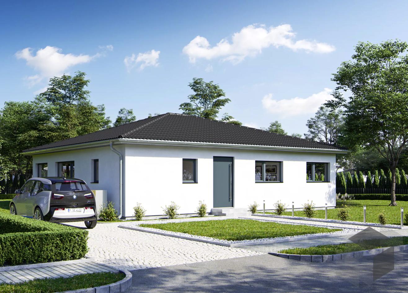 bungalow 39 goethestra e 109 39 bauen wiewir ab euro als ausbauhaus mit einem klick. Black Bedroom Furniture Sets. Home Design Ideas