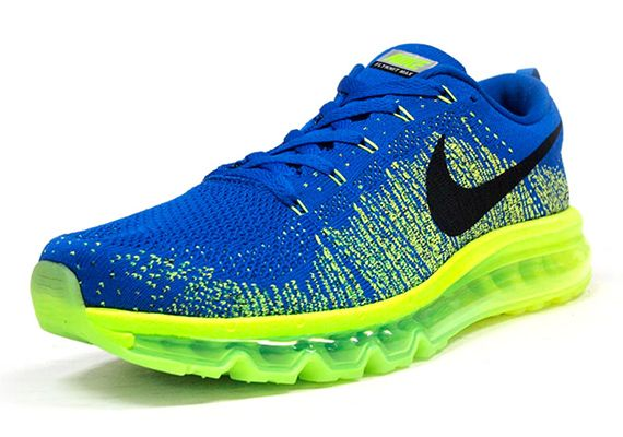 hot sale online 3e800 5115e best price nike flyknit air max light blue color d311a 5b90a
