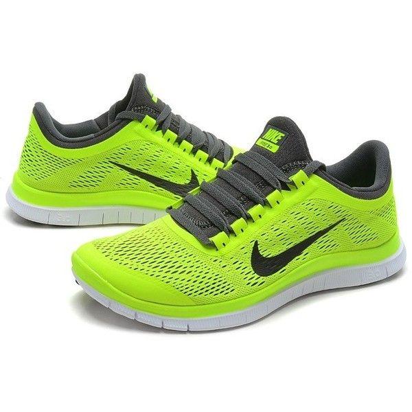 e25ddeb03f306 Nike Free Run 3.0 V5 Men Light Yellow Running Shoes