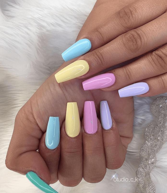 Pastel Manicure: la nuova coloratissima tendenza da Instagram