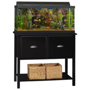 Ameriwood Durham 37 40 Gallon Tank Stand Petsmart Aquarium Stand Fish Tank Stand Aquarium Stands