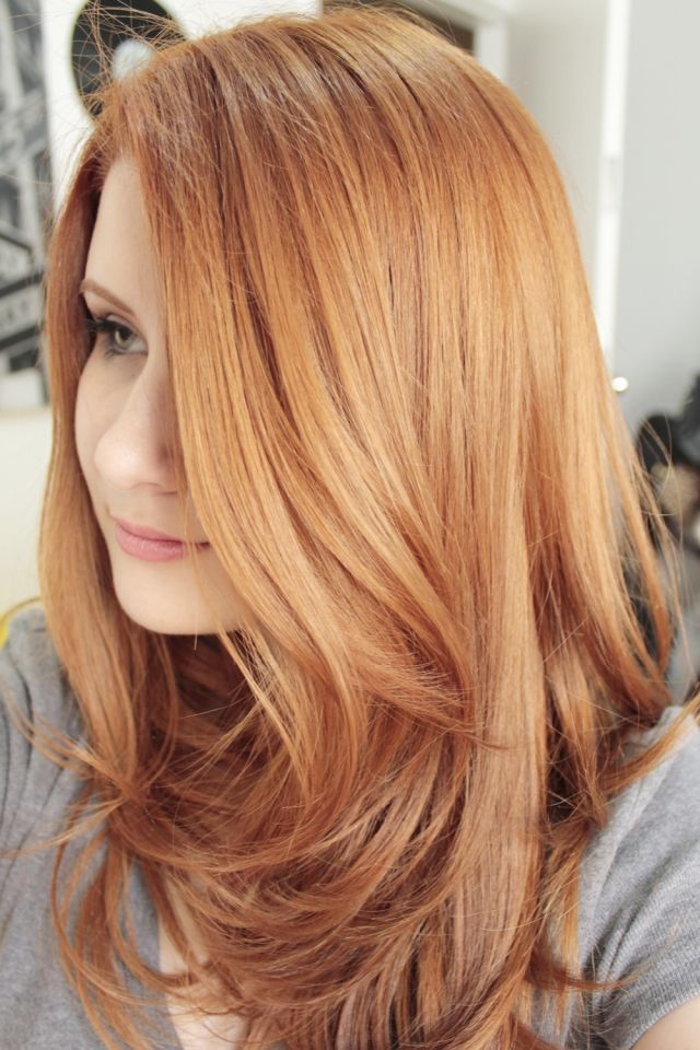 Majirel 8 34 Ox40 Strawberry Blonde Hair Color Light