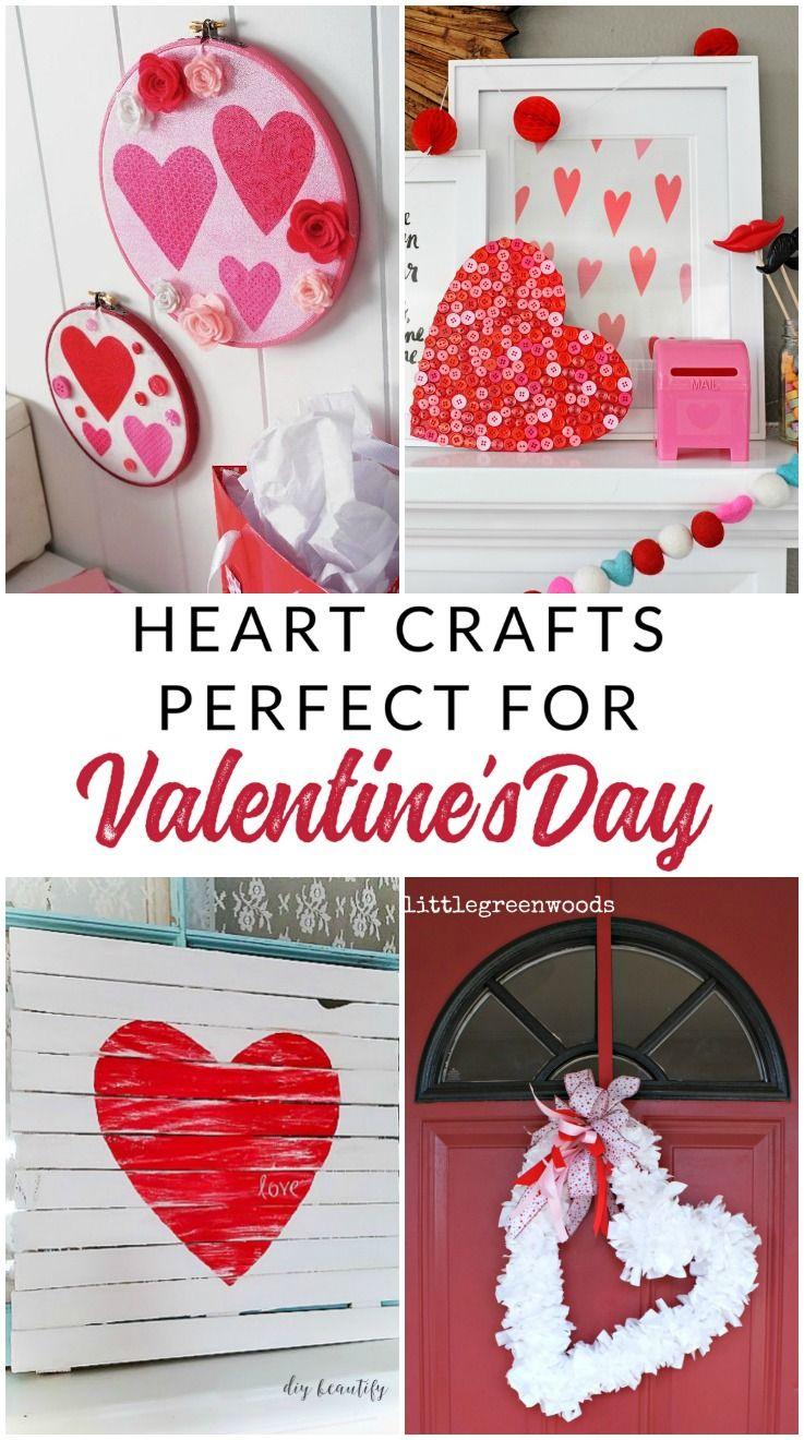 19 Diy Heart Decorations Make Gorgeous Valentine Decorations Valentine Decorations Heart Decorations Valentine