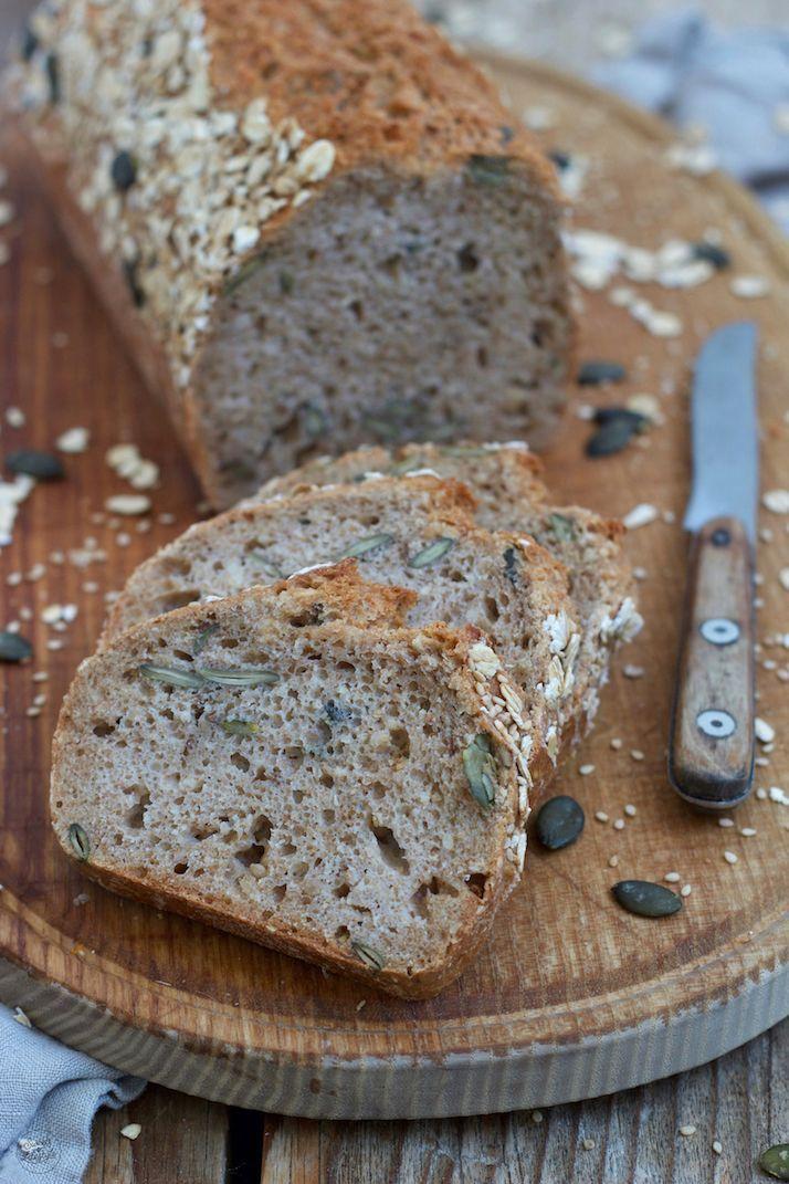 Dinkel-Körnerbrot #breadrecipessweet