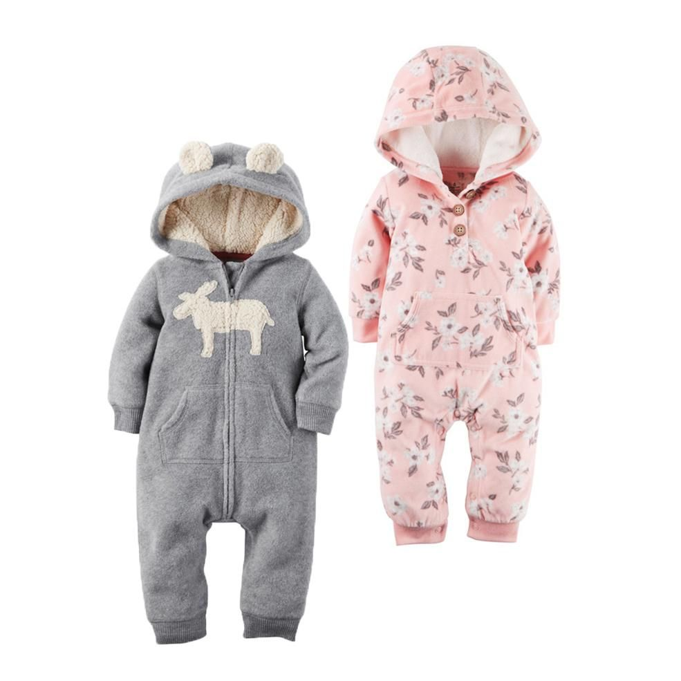 Palm by The Bay Newborn Baby Boy Girl Romper Jumpsuit Long Sleeve Bodysuit Overalls Outfits Clothes