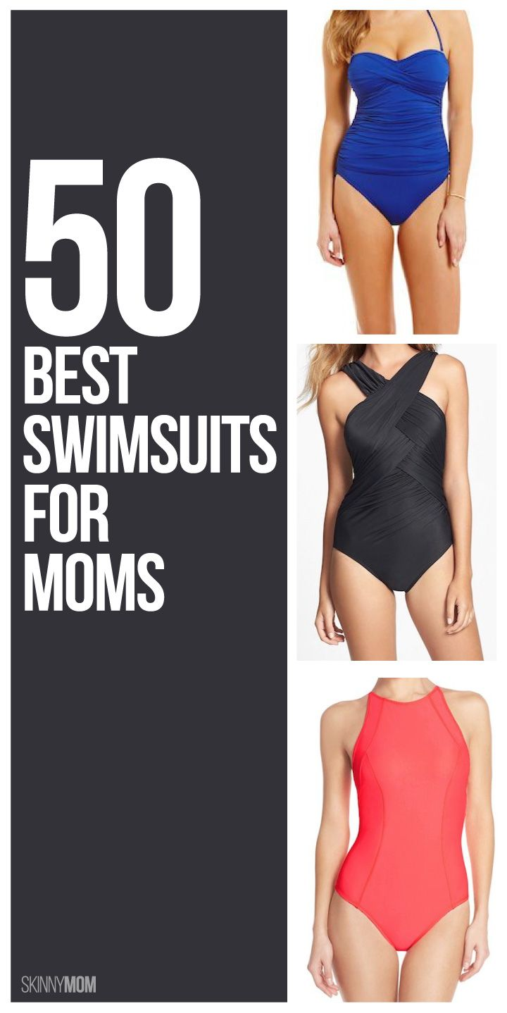 886d5033f544b Hot Mama! 50+ Swimsuits For Every Mom
