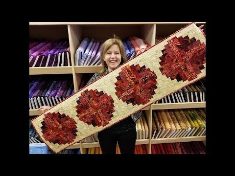 (3) Let's Make! | Curved Log Cabin Tutorial | Quick Tips for Easy Binding - YouTube
