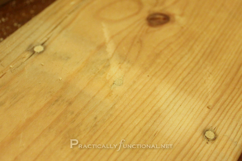 How To Fix Nail Or Screw Holes In Reclaimed Wood Wood Glue Woods