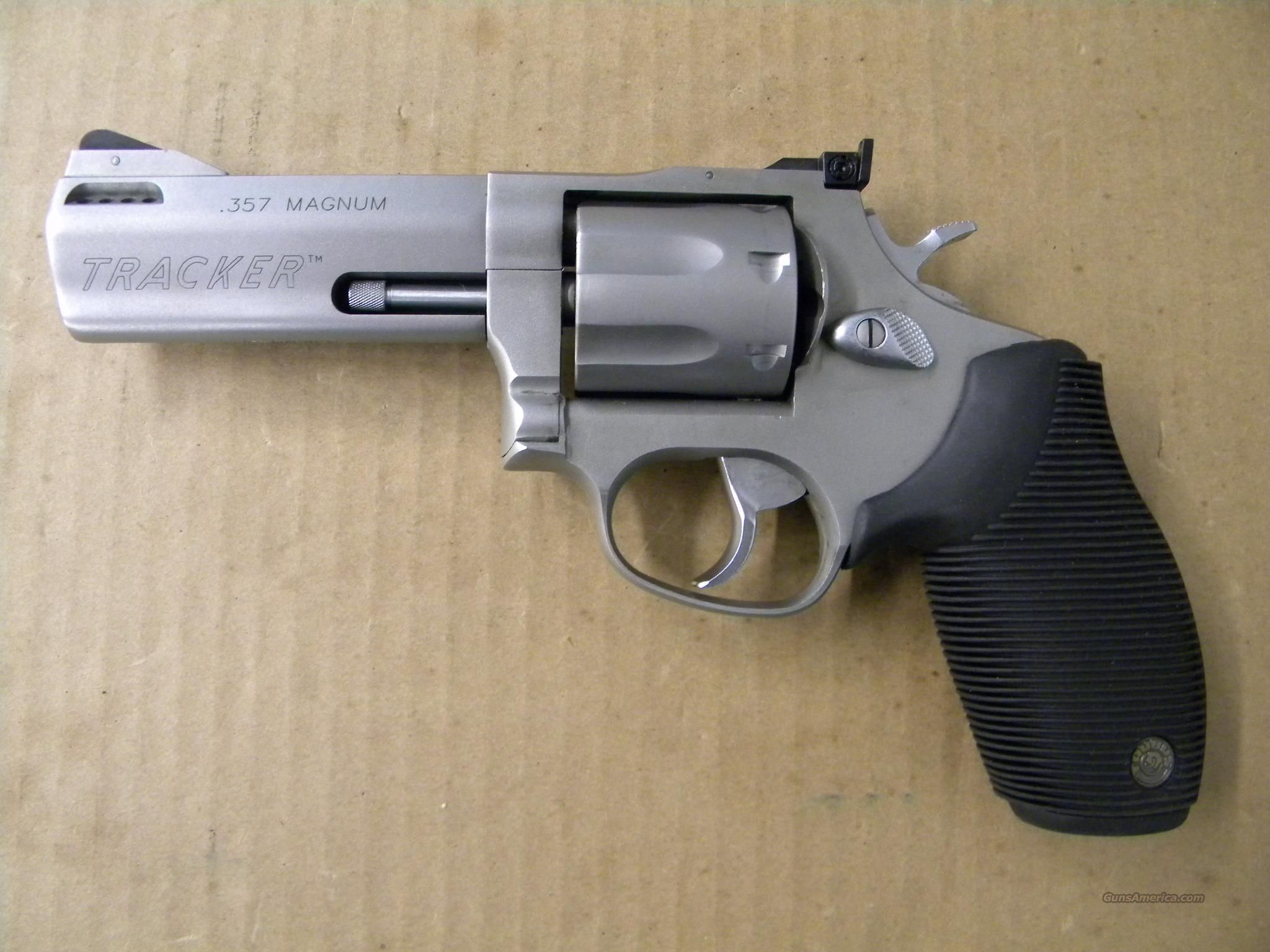 Taurus Tracker Stainless 7 Shot  357 Magnum Revolver | armed and