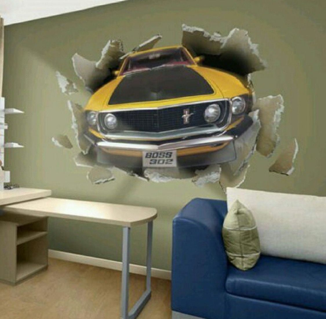 Pin by Jasmin Cook on Cars and Trucks | Race car bedroom, Boys car ...