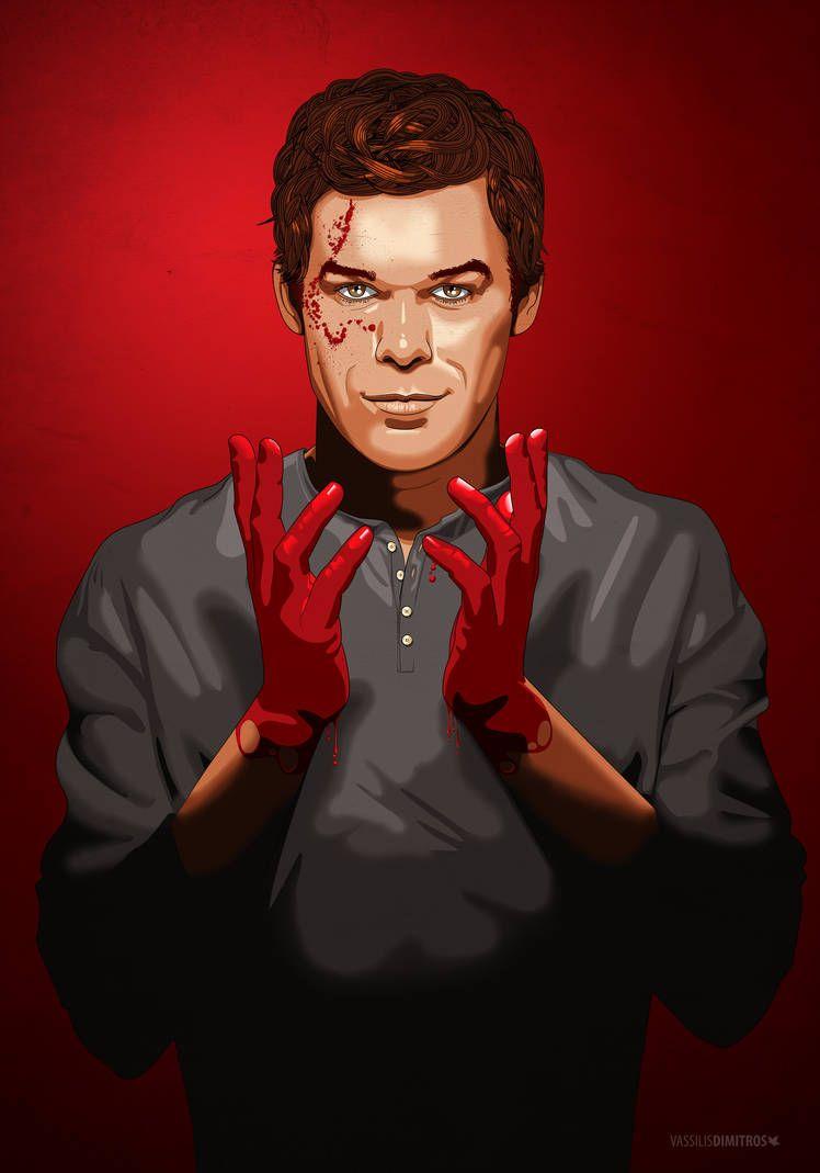 Darkly Dreaming Dexter By Dimitrosw On Deviantart Dexter Poster Dexter Wallpaper Dexter Morgan