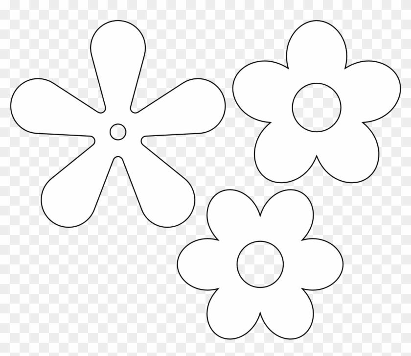 Outline 5 Petal Flower Google Search Petal Flowers Outline