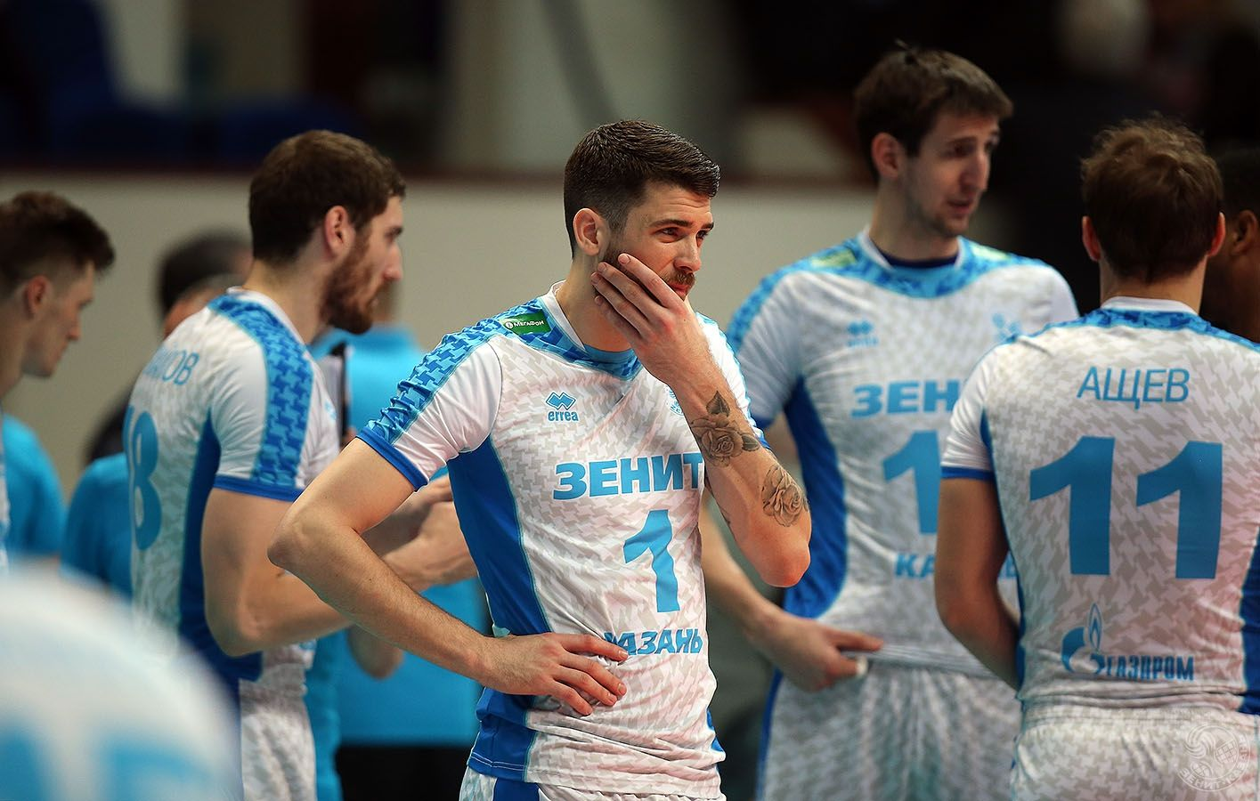 07 05 2017 Russian Final Six Zenit Kazan Lokomotiv Novosibirsk 3 2 Mens Volleyball Matt Anderson Sports Jersey