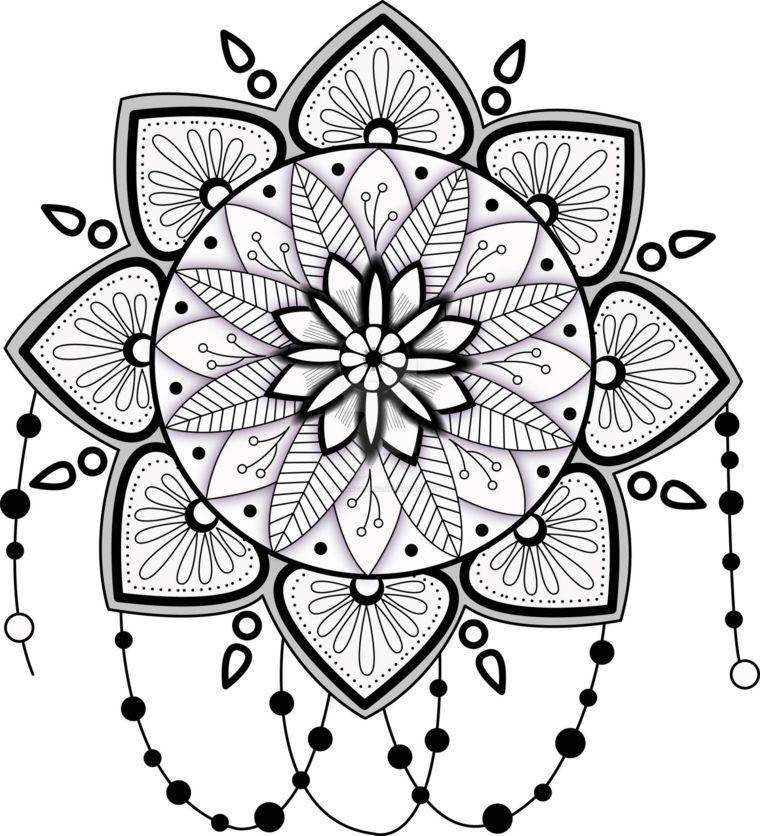 Dibujos Mandalas Simples. Paginas Simples Para Colorear Para Ninos ...