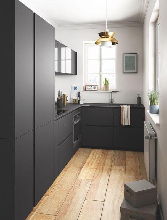 Cocinas en color negro. Ventajas del color negro en cocinas. | Color ...