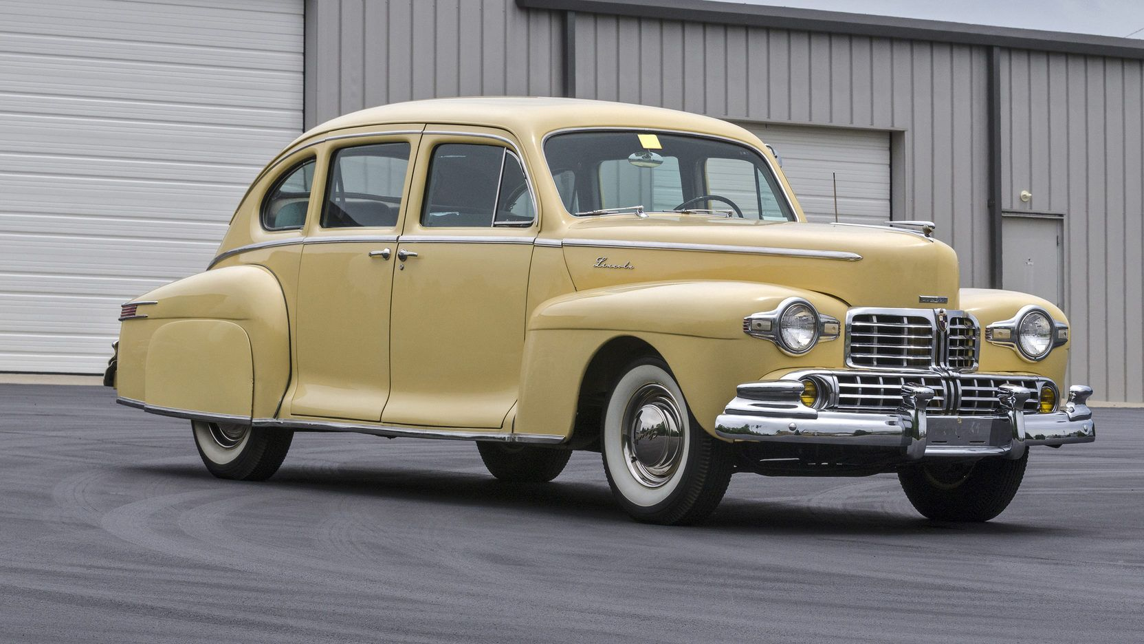 1947 Lincoln Zephyr presented as Lot T96 at Louisville, KY | Cars ...