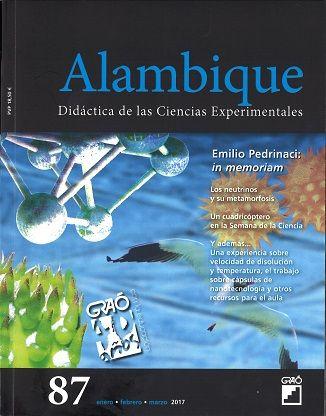 Alambique Nº 87 Xaneiro Marzo 2017 Ciencias Experimentales