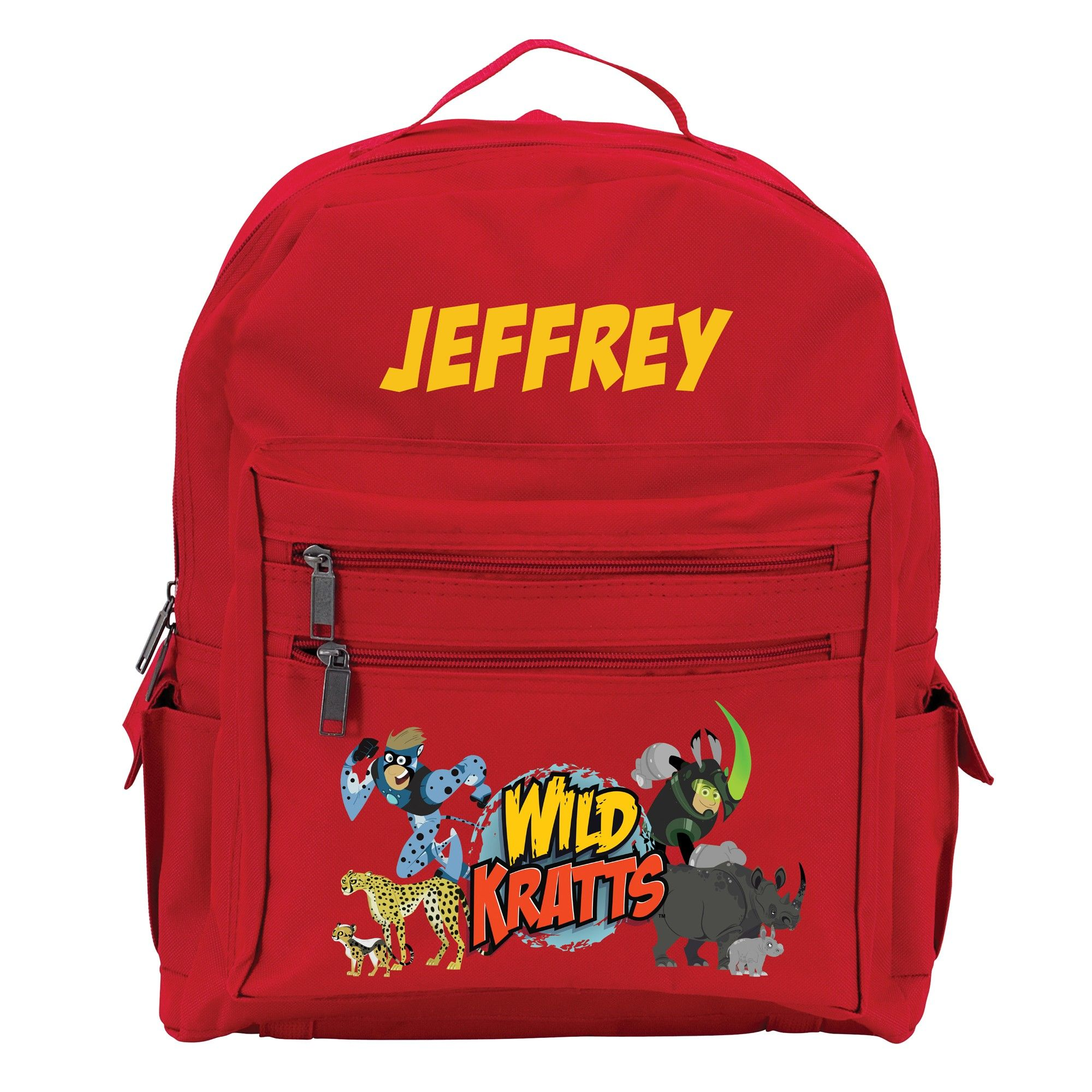 d2533f929961 Wild Kratts Creature Adventure Red Youth Backpack from PBS Kids Shop ...
