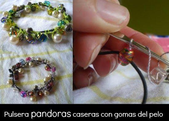 194baf4aaa8e Como hacer una Pulsera Pandora casera - enrHedando | Pulseras ...
