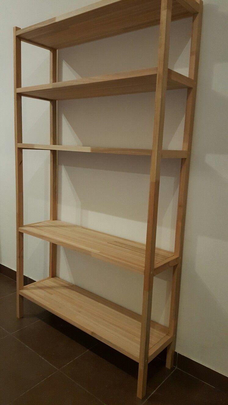 Módulo vertical / Biblioteca / Finger Joint Eucalipto / TRIO Diseño en Madera