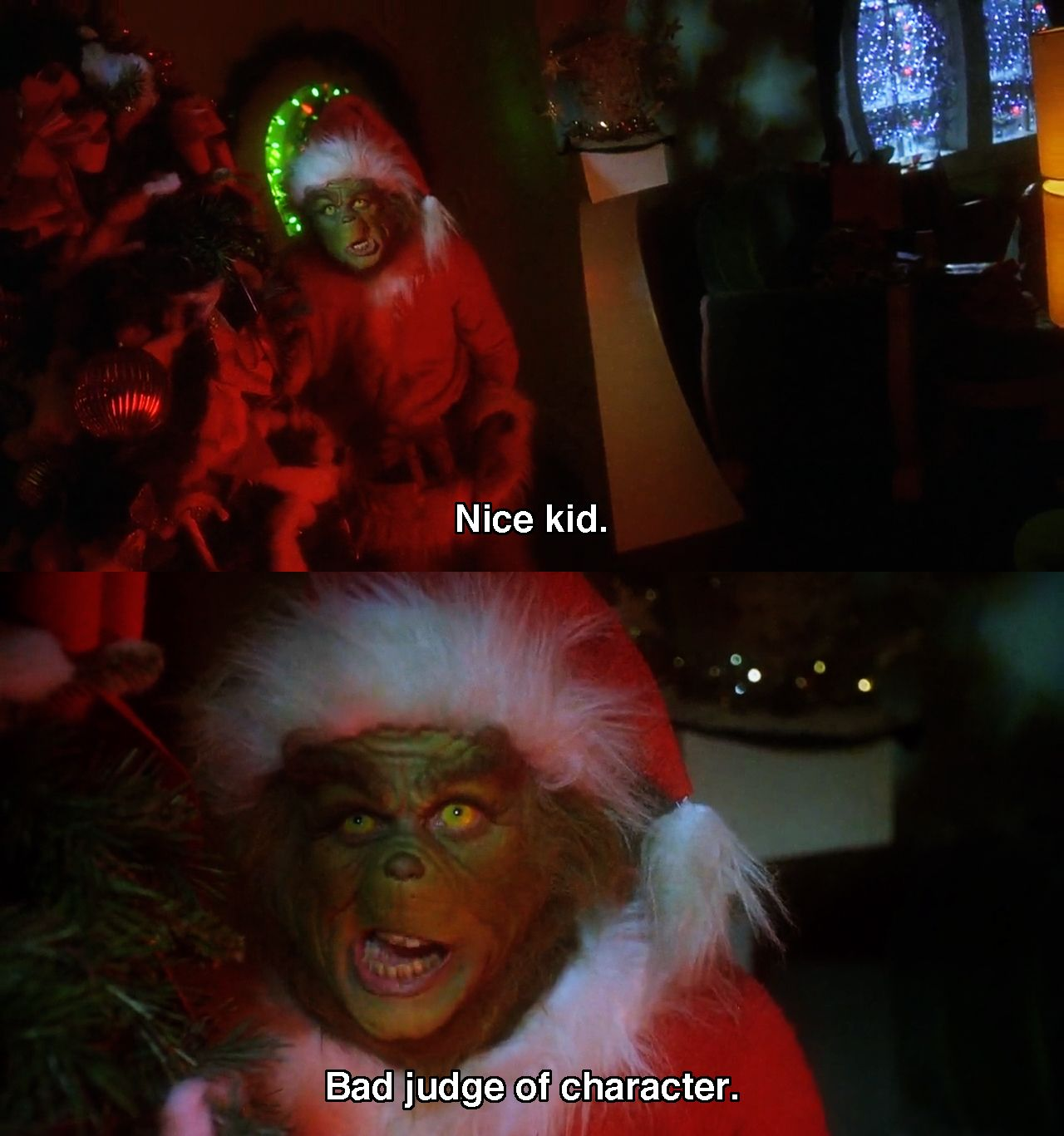 Let's Go To The Movies Funny christmas movies, Grinch