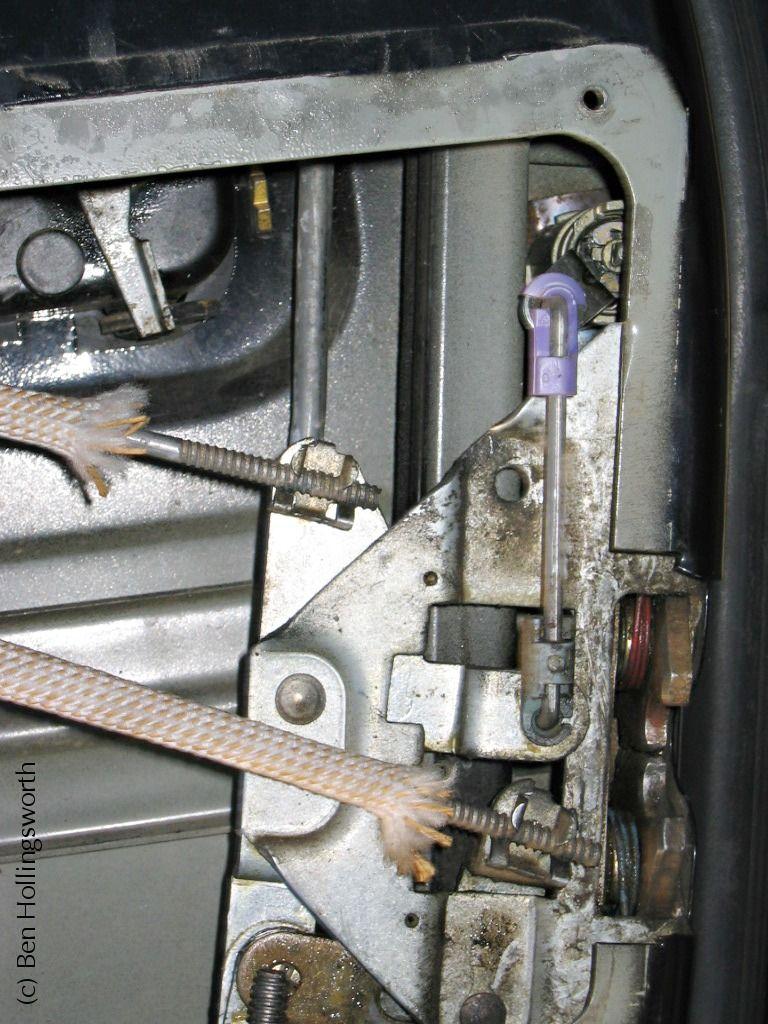 medium resolution of yj door lock fix