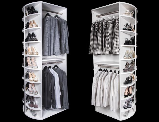 Double Hang Closet System