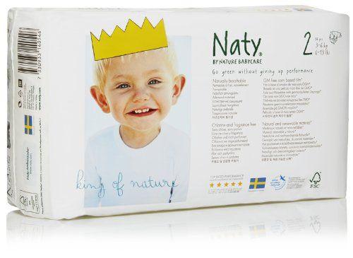 Naty by Nature Babycare Couches Écologiques Jetables Taille 2 Mini 3-6 kg 34 Couches Lot de 4 (136 couches): Amazon.fr: Hygiène et Soins du corps
