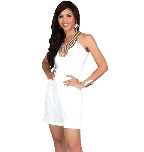 f5064569d3df KOH KOH KOH KOH Womens Sleeveless Sexy Cute Cocktail Party Summer Short  Romper Jumpsuit