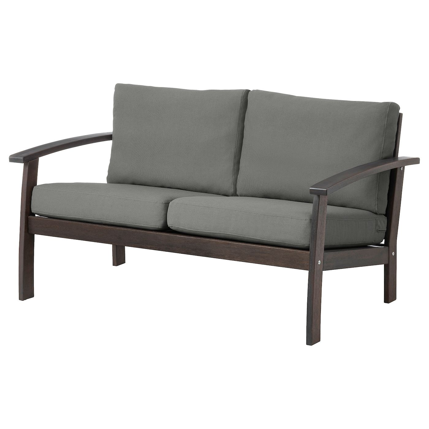 Ikea Hollywoodschaukel KlÖven Loveseat Outdoor Brown Stained Frösön Duvholmen Dark