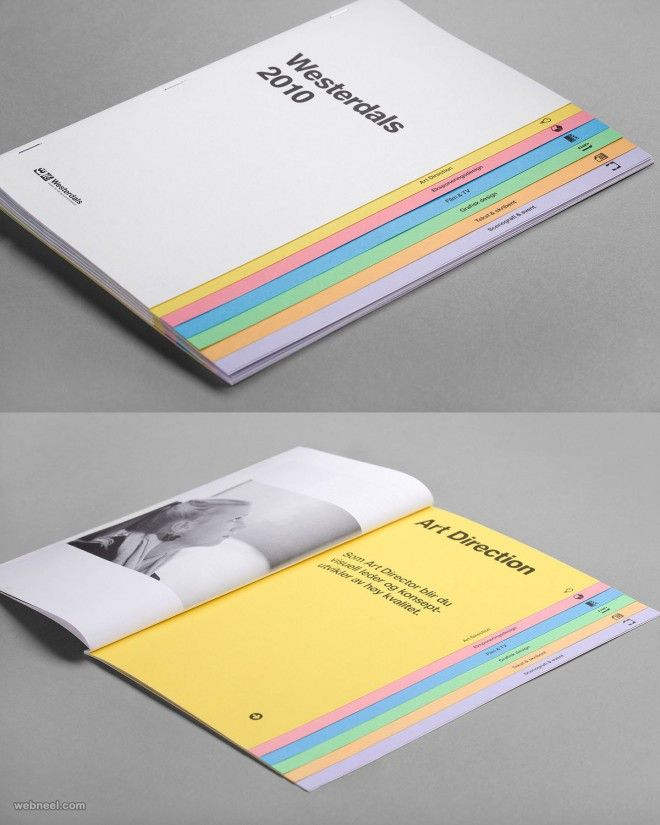 26 Best and Creative Brochure Design Ideas for your inspiration ...