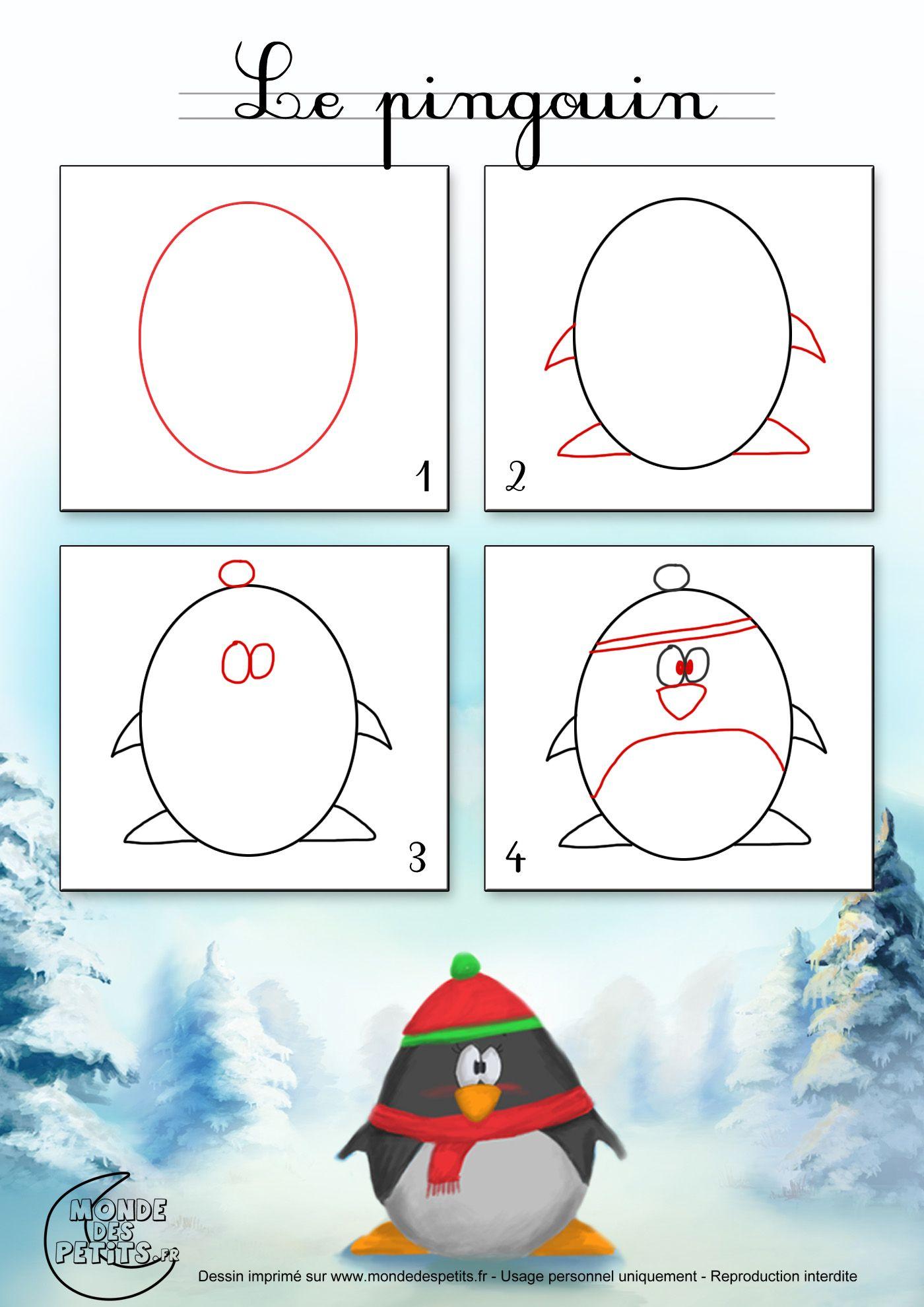 Pingouin Cadeaux Paquets Cartes Faire Plaisir A Ceux Qu On