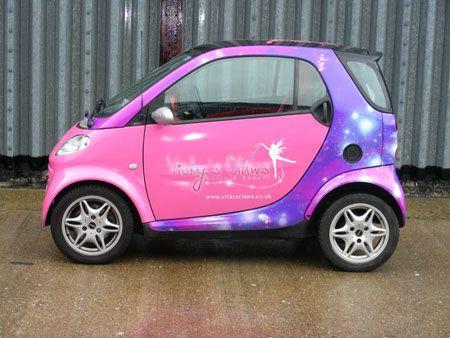 Amazing Smart Car Wrap...holy Crap!