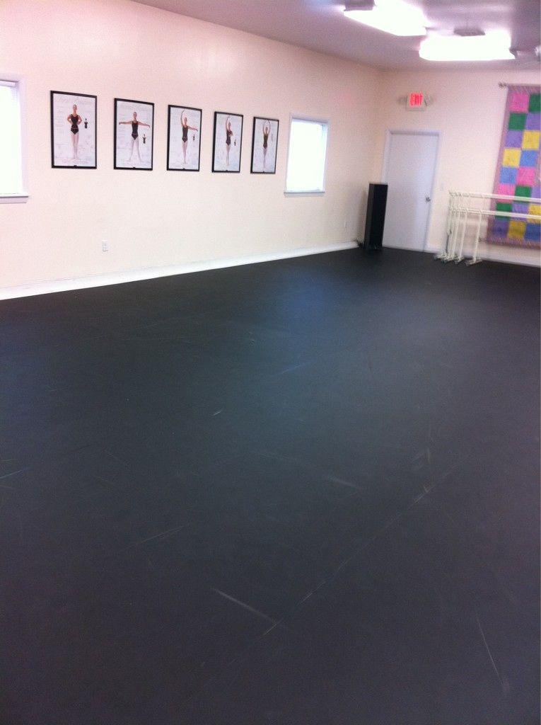 Black Marley Floor My Future Studio Pinterest Dance Rooms