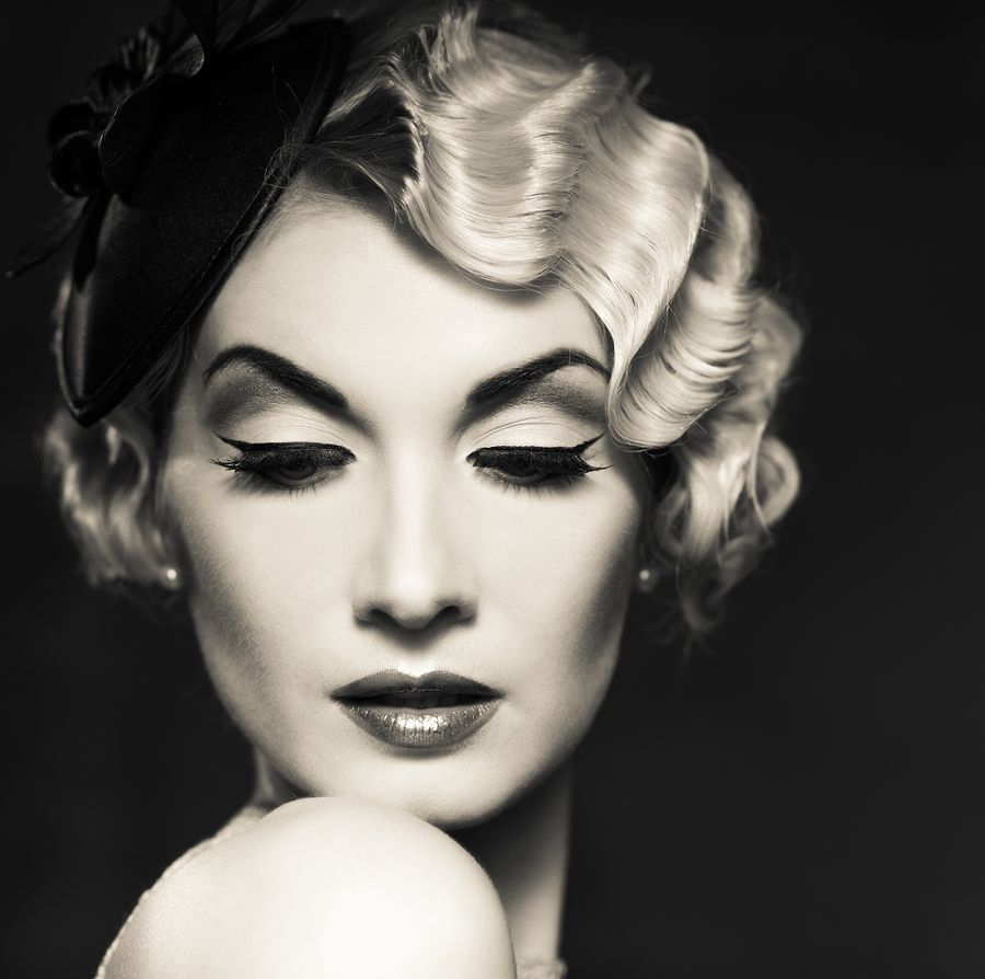 Pix For Vintage Hair Gorgeous Hairstyles Pinterest Vintage