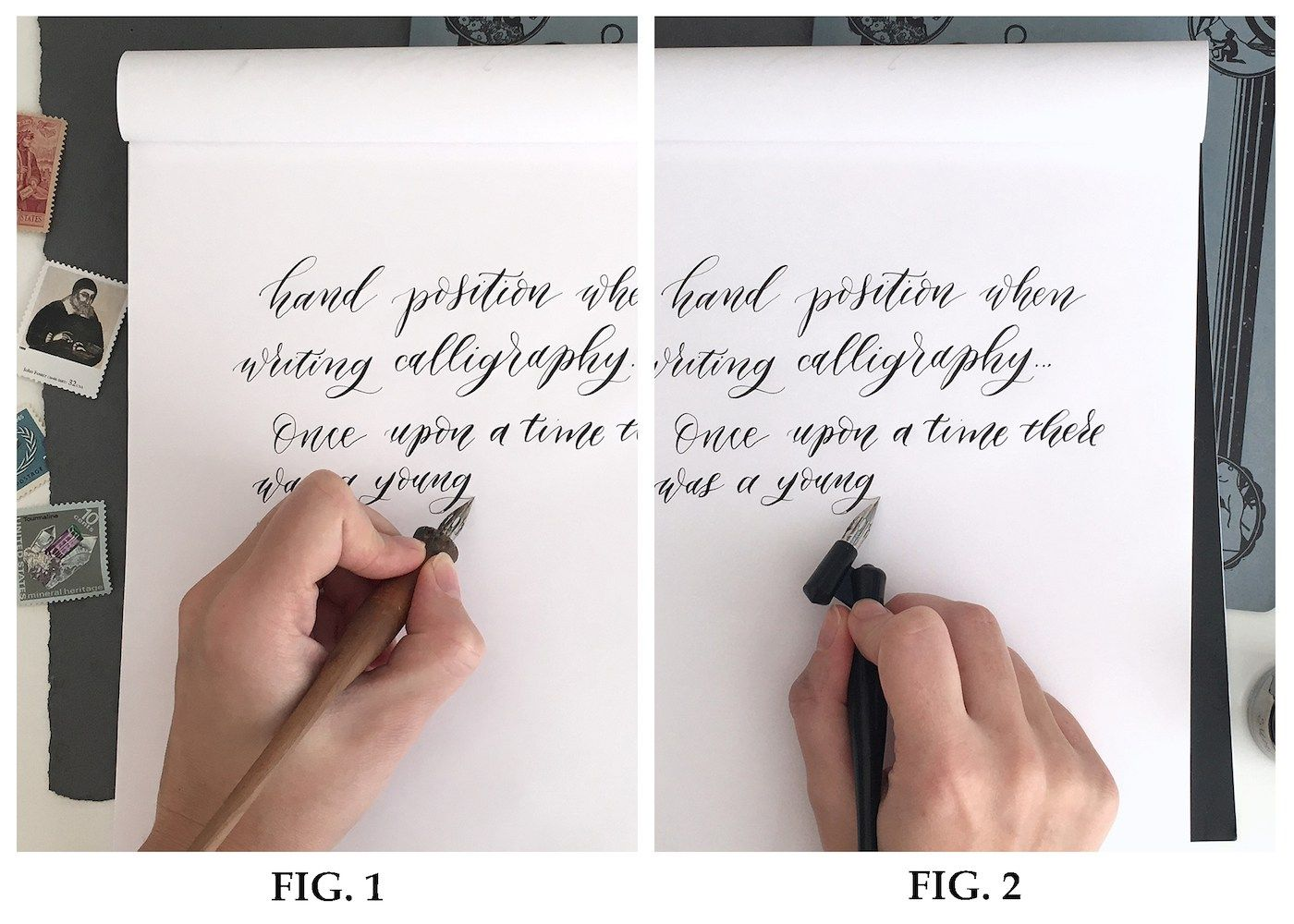 5 Tips For Creating Left Handed Calligraphy From A Lefty