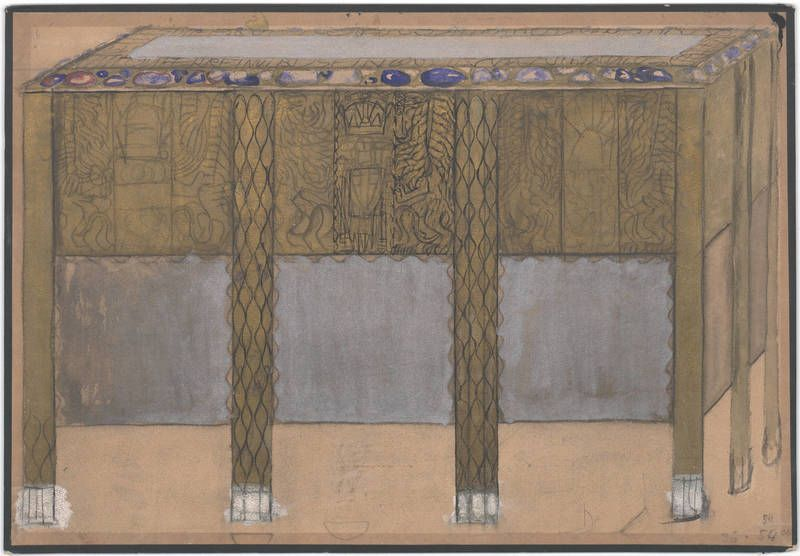 Carl Otto Czeschka, Vienna, 1906