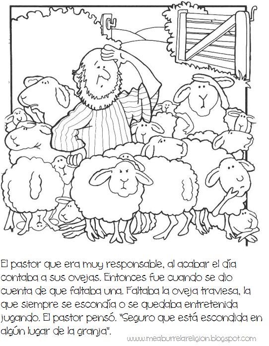 Op2 Png 542 697 La Oveja Perdida Historias De La Biblia Para Niños Preescolar Cristiano