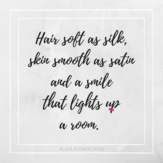 Luvlylonglocks The Premier Website For Salons Stylists And Hair Lovers Hair Quotes Instagram Quotes Hair Quotes Inspirational